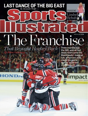 This weeks Sports Illustrated cover. (Picture courtesy of insidesportsillustrated.com)