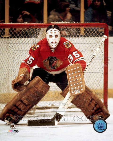 Tony Esposito-#35 Chicago Blackhawks (Picture Courtesy of photofile.com)