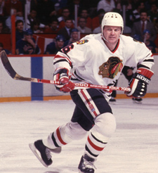 Bob Murray- Chicago Blackhawks defenseman (Picture courtesy of blackhawks.nhl.com)