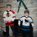 My Brother And I Starting Our Rivalry At A Young Age
