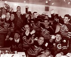 1938 Stanley Cup Champion Chicago Blackhawks (picture credit aeryssports.com)