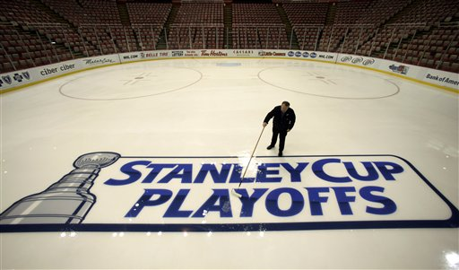Stanley Cup Playoffs are right around the corner (picture courtesy of newgrounds.com)(AP Photo/Paul Sancya)