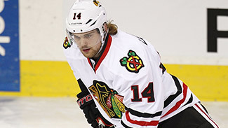 Drew LeBlanc, Chicago Blackhawks Center (Picture Courtesy from Blackhawks.NHL.com)