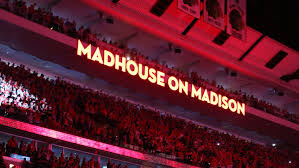 Madhouse on Madison Signage Inside The United Center (Picture Courtesy OF Chicago.Cbslocal.com)