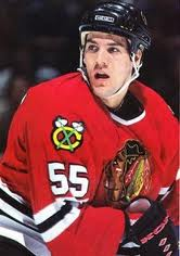 Eric Daze #55 Chicago Blackhawks (Picture courtesy of fanbase.com)