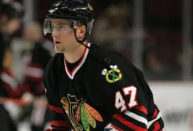 Martin St. Pierre #47 Chicago Blackhawks (Picture Courtesy of Blackhawks.NHL.Com)