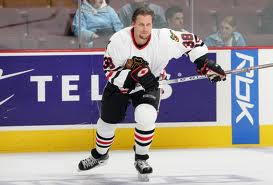 Jason Morgan #38 Chicago Blackhawks (picture courtesy ECHL.com)