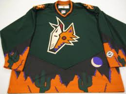 Phoenix Coyotes Alternate Jersey (Picture Courtesy of bmacs-jerseys.blogspot.com)