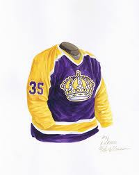 Early 1980's Los Angeles Kings Jerseys (Picture courtesy of Flickr.com)