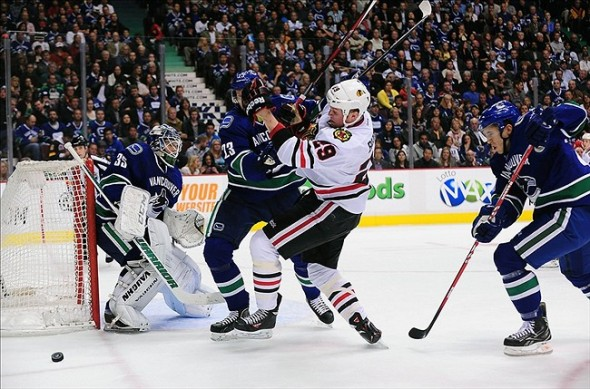Chicago Blackhawks vs. Vancouver Canucks