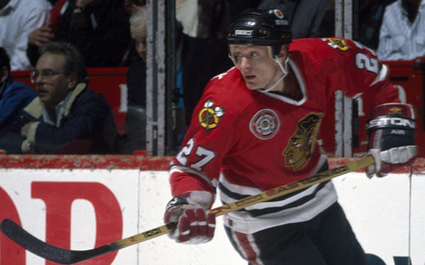 Jeremy Roenick #27 Chicago Blackhawks (Picture Courtesy of Chicagoblackhawks.com)