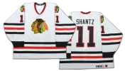 Jeff Shantz #11 Chicago Blackhawks (Picture Courtesy of ClassicAuctions.net)