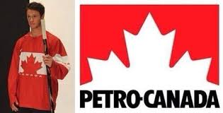 Petro-Canada, Canadian gasoline bar, looks to sponsor the 2014 Olympic Jerseys.