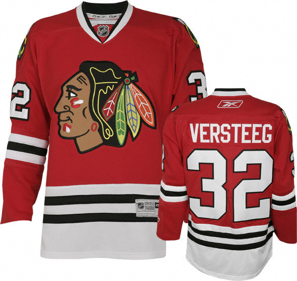 Kris Versteeg #32 Returns to the Chicago Blackhawks (Picture Courtesy of Sportsjerseyexpress.com)