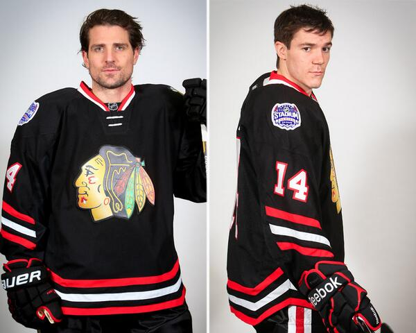 Chicago Blackhawks Stadium Series Uniforms (Picture Courtesy Of ChicagoBlackhawks.com)