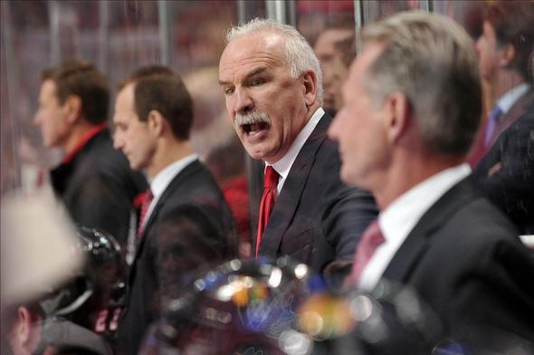 Chicago Blackhawks Head Coach Joel Quenneville