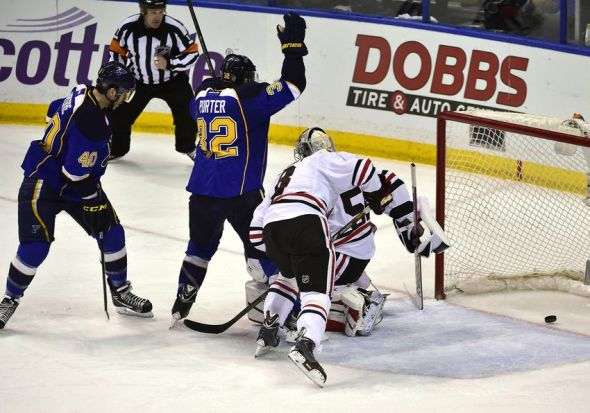 Stanley Cup Playoffs - Chicago Blackhawks at St. Louis Blues