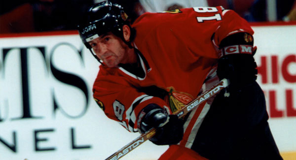 Denis Savard (Photo courtesy of (blackhawks.nhl.com)