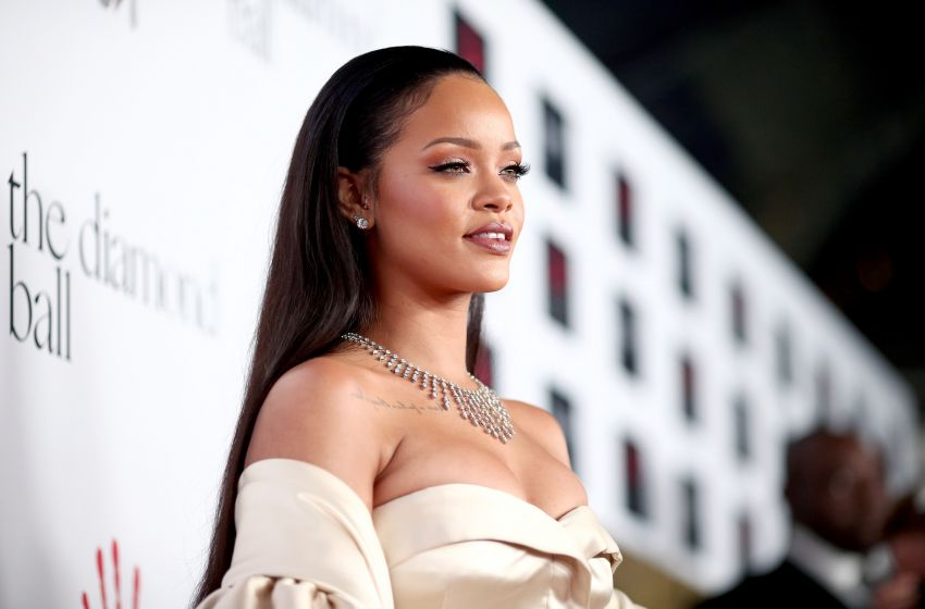Rihanna in the press room at the 2008 Grammy Awards. Staples Center ...
