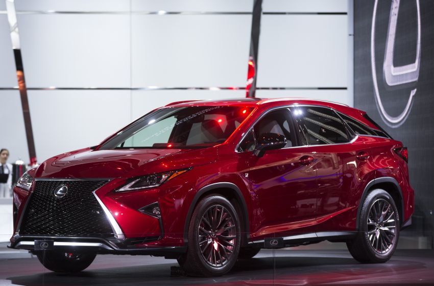 Lexus Recalls Certain 2016 RX 350 and RX 450h Vehicles