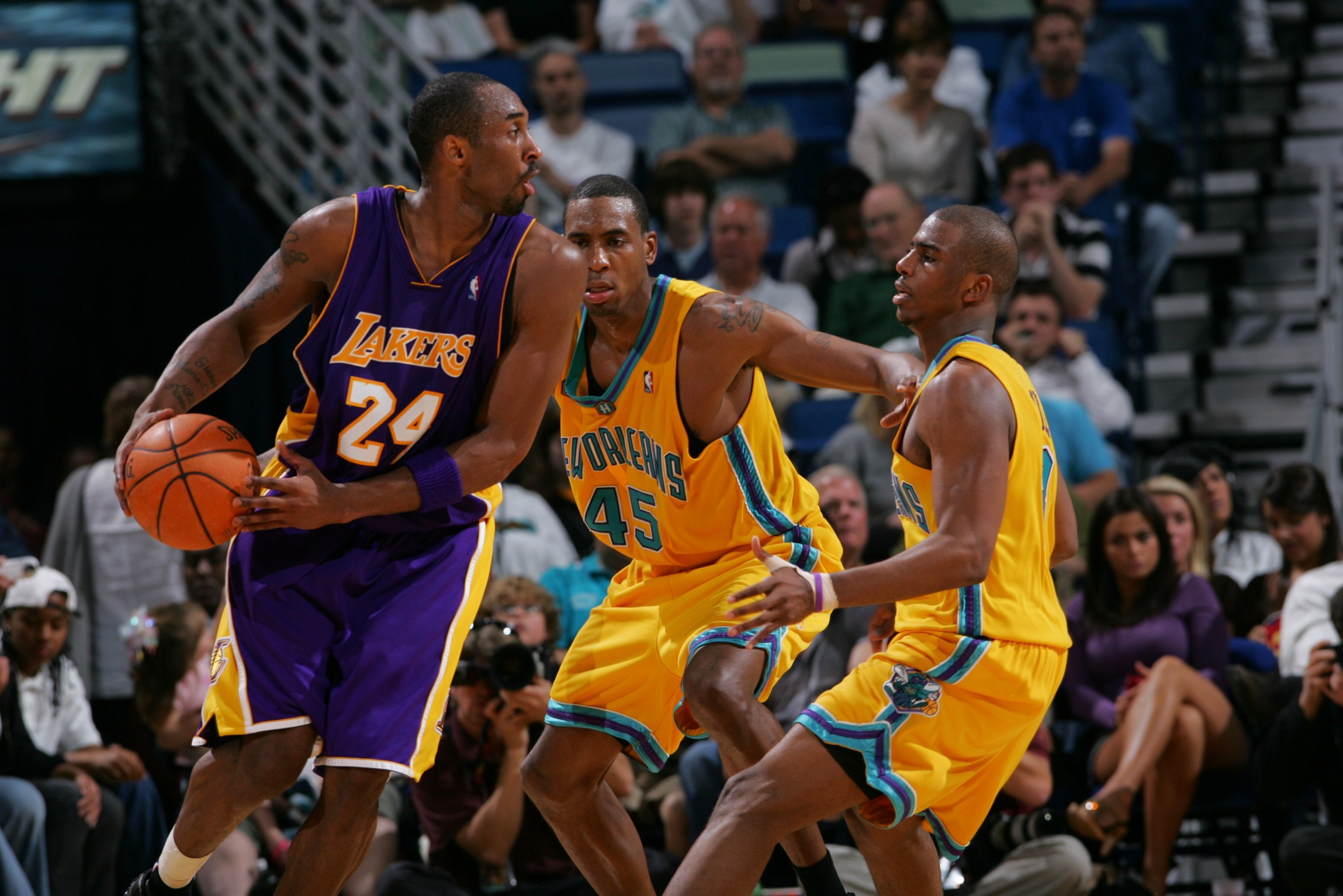 03fbcff24b2 Kobe v. Pelicans (New Orleans Oklahoma City Hornets at the time) March 23