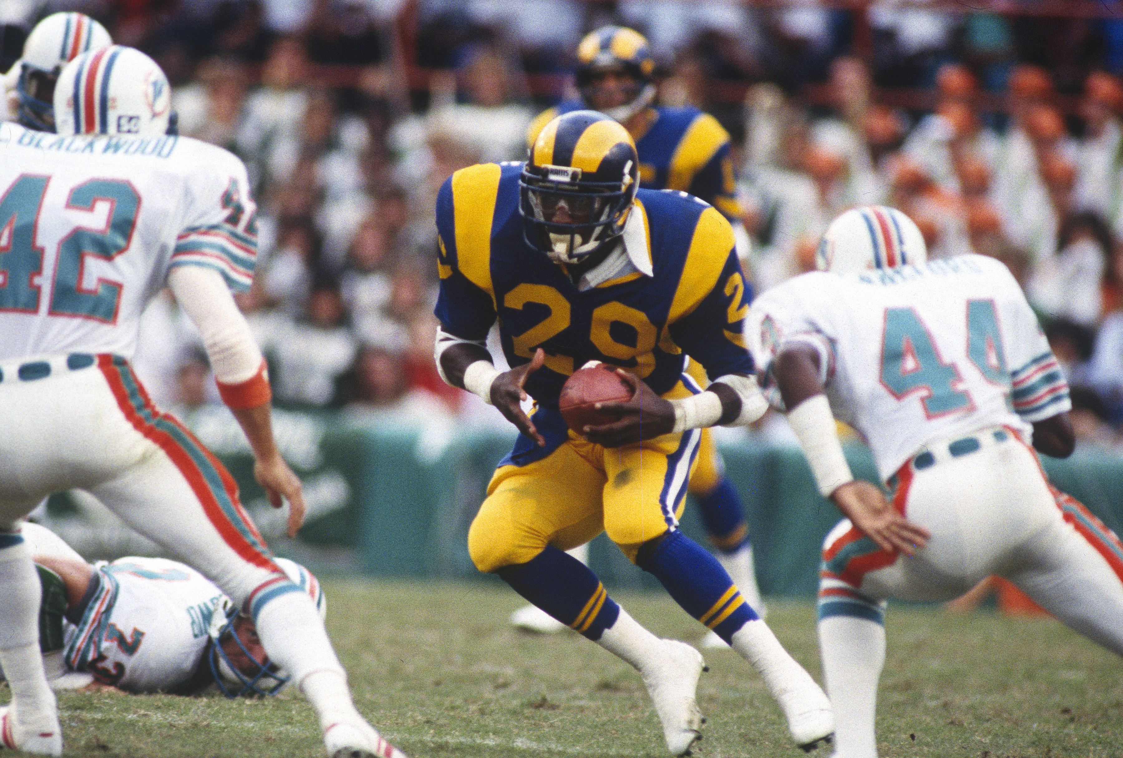 Eric Dickerson banned from Rams sidelines after ...