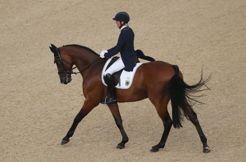 Olympic Equestrian Eventing Dressage Results August 7