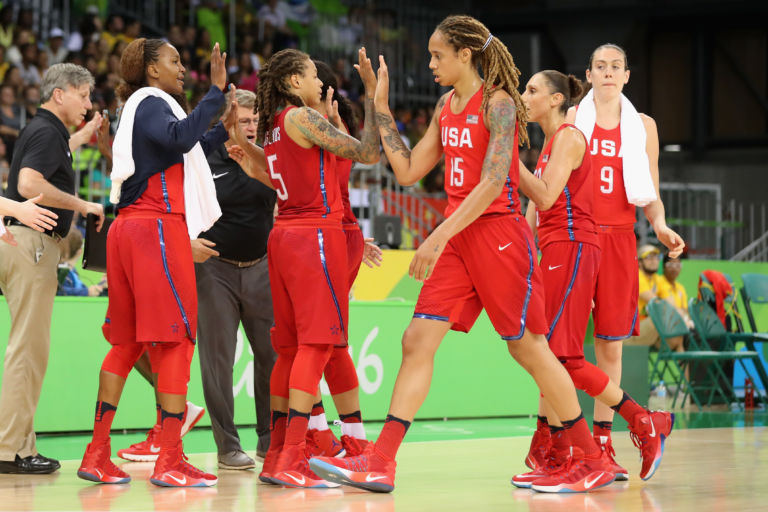 Olympics women's basketball results: Team USA crushes China