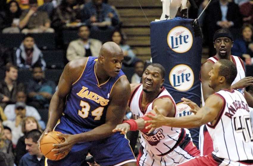 e3eb2d62a56 Newly inducted Hall of Famer Shaquille O'Neal provided a number of  memorable playoff moments during eight-year run with the Los Angeles Lakers.