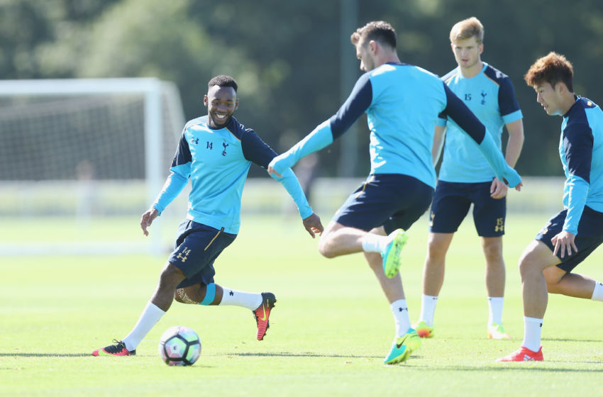 ENFIELD, ENGLAND - SEPTEMBER 08: Georges-Kevin N'Koudou during the Tottenham Hotspur training session at Tottenham Hotspur training centre on September 8, 2016 in Enfield, England. (Photo by Tottenham Hotspur FC/Tottenham Hotspur FC via Getty Images)