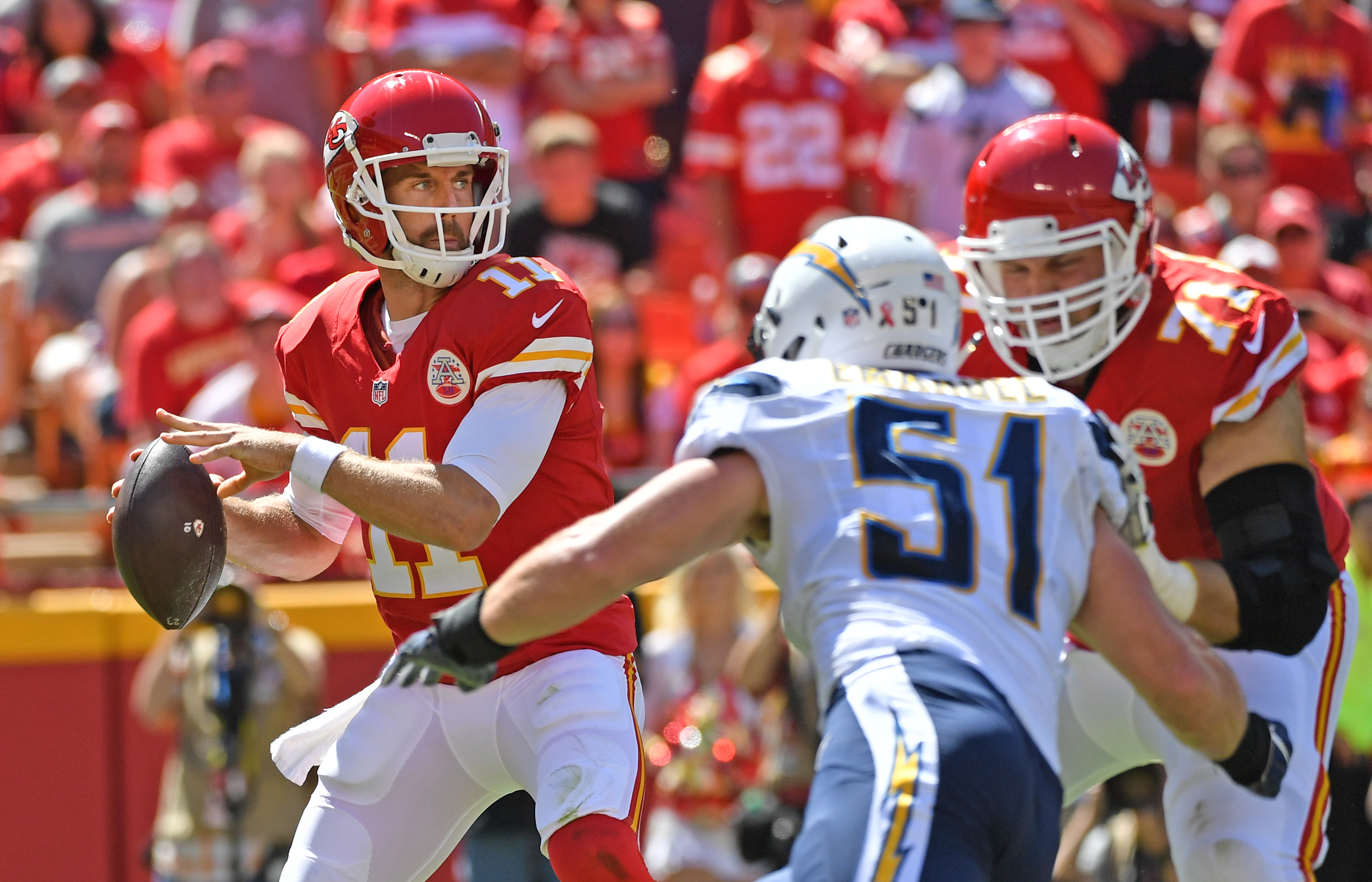 Chiefs: Chiefs Season Could Swing On Alex Smith In Week 3