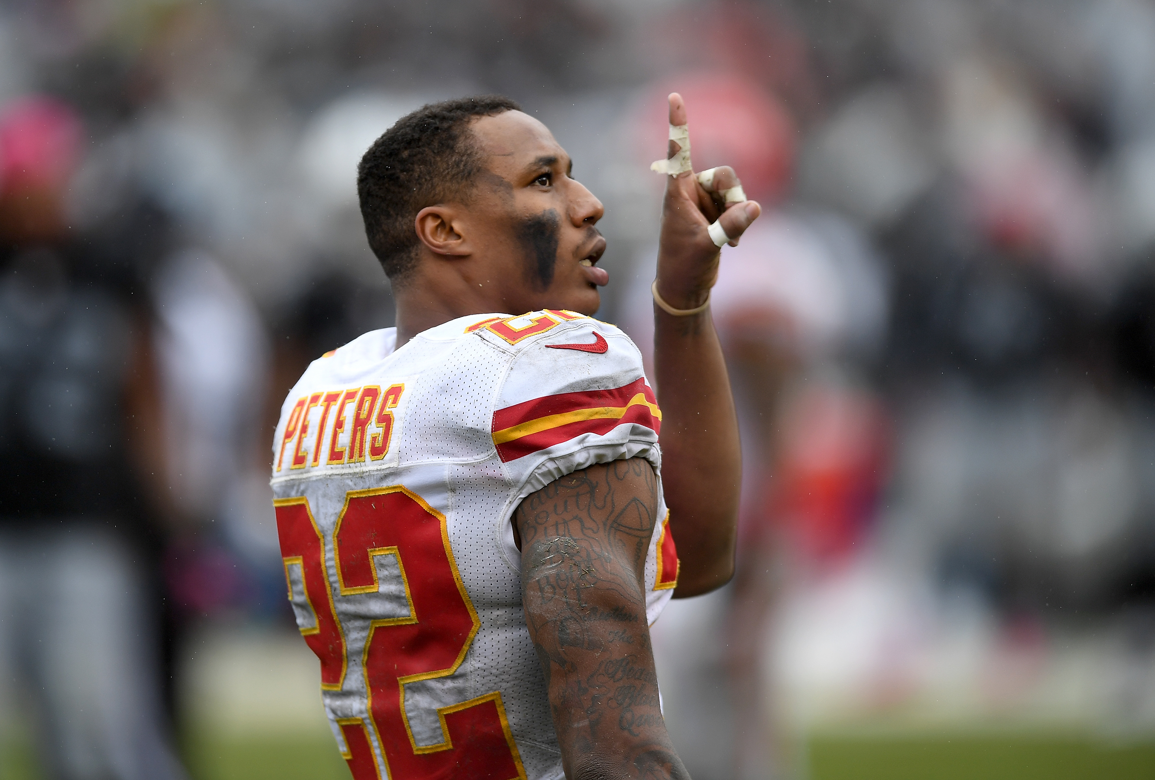 keenan allen calls marcus peters bum in tweet