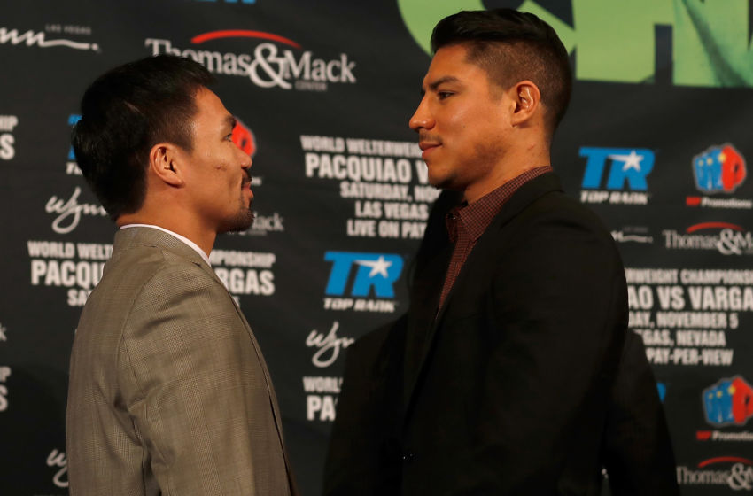 This is the biggest fight of Jessie Vargas' career.