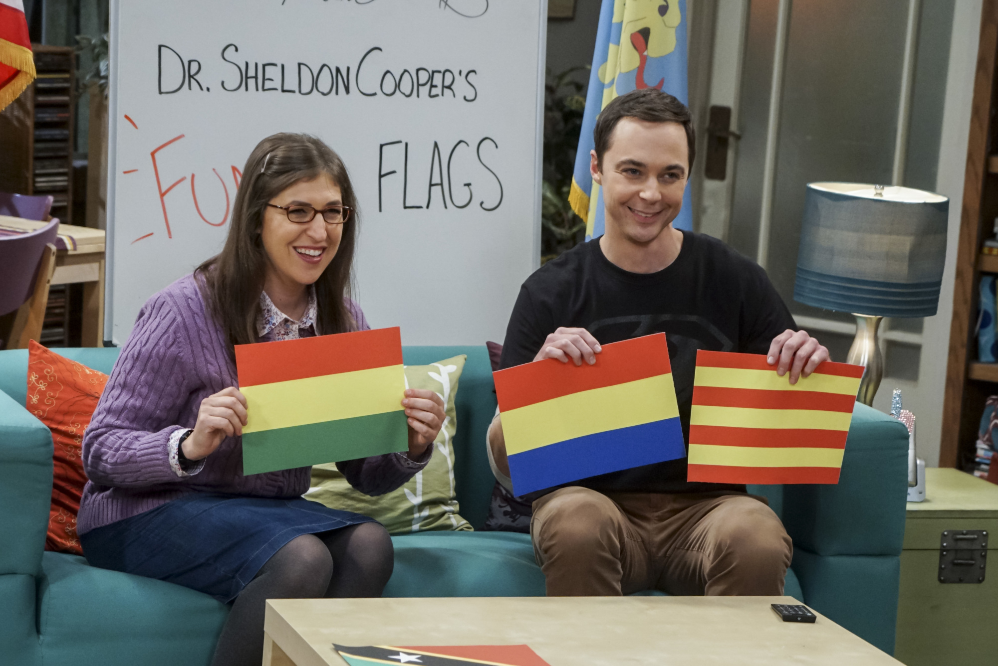 The big bang theory season 10 episode 7 recap for Decoracion piso big bang theory