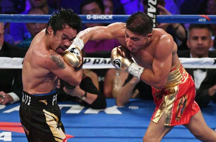 Jessie Vargas had his moments against Manny Pacquiao.