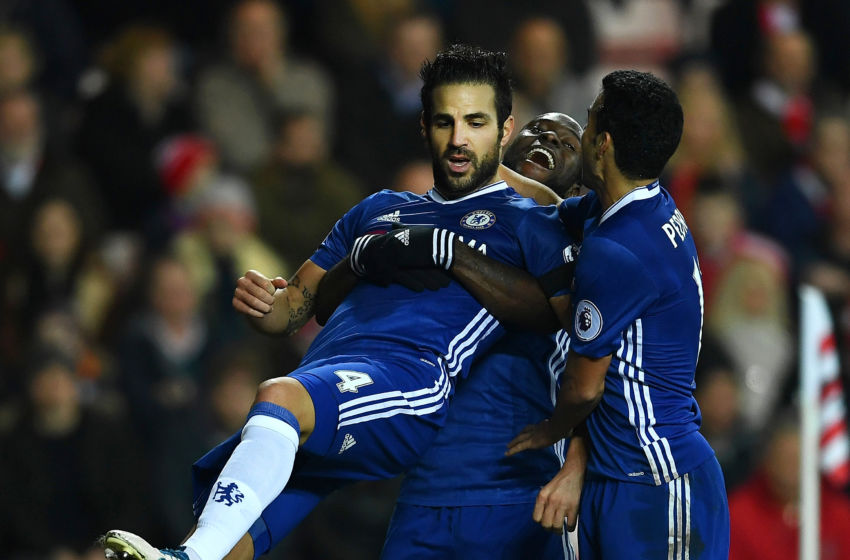 Fabregas' stunning return to the Chelsea XI in numbers