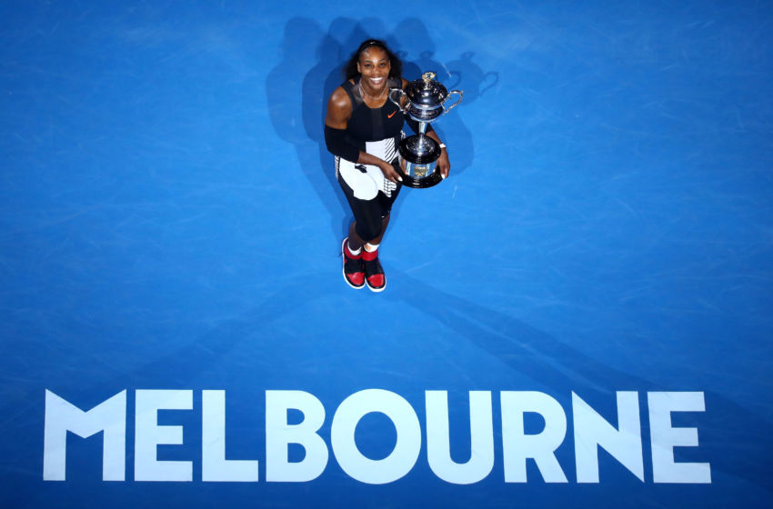 Image result for serena williams wins 2017 australian open