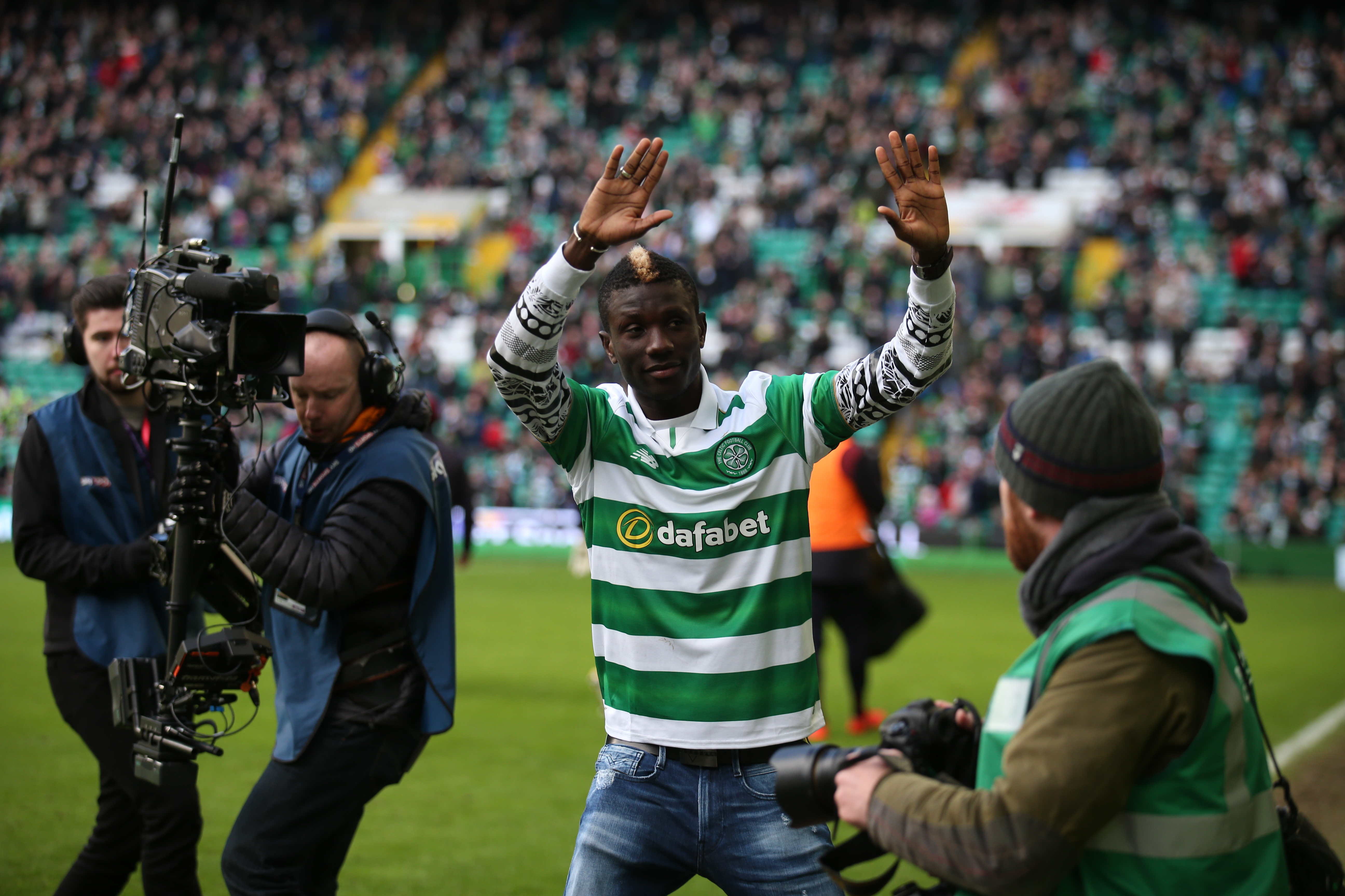 Rodgers looking to slow-play Celtic debut of Kouassi Eboue