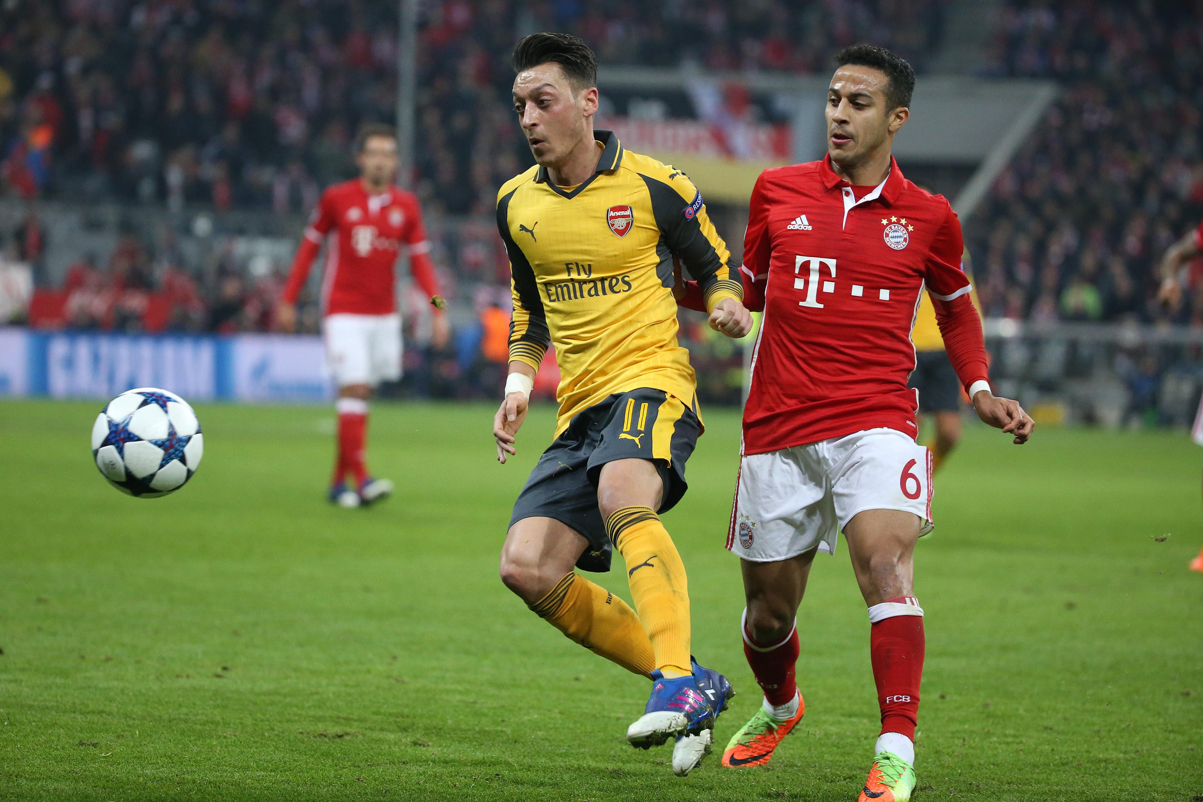 Arsenal Fc Bayern