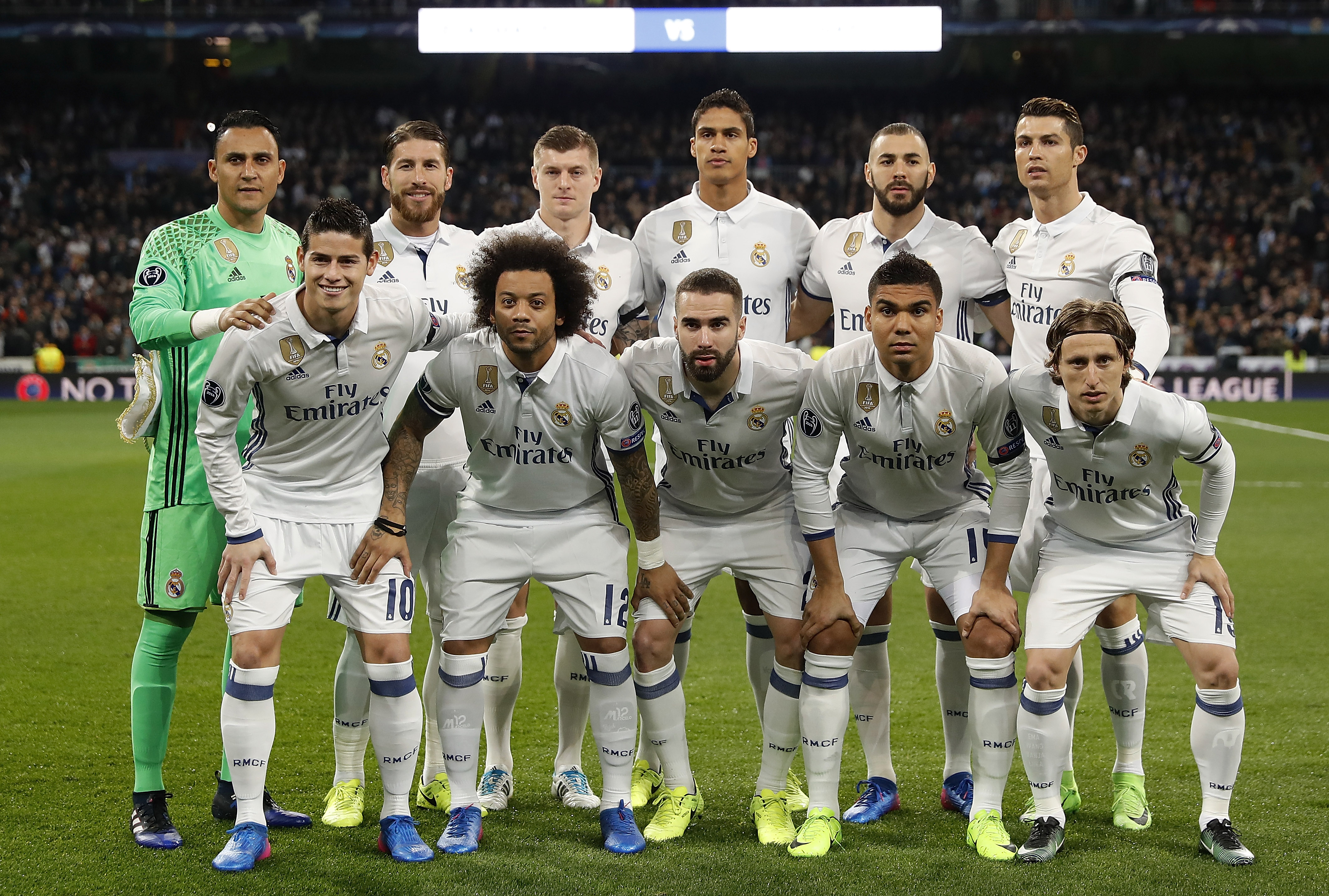 Image result for real madrid 2017 lineup