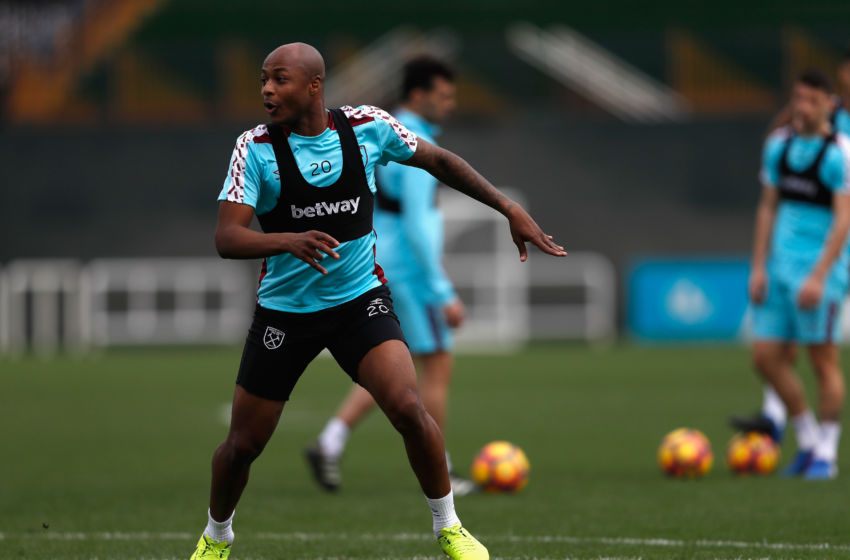 Ayew gifts West Ham a share of the points against Watford