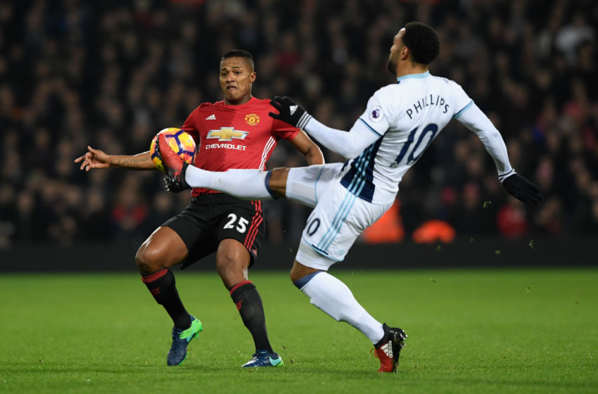 ... West Bromwich Albion and Manchester United at The Hawthorns on