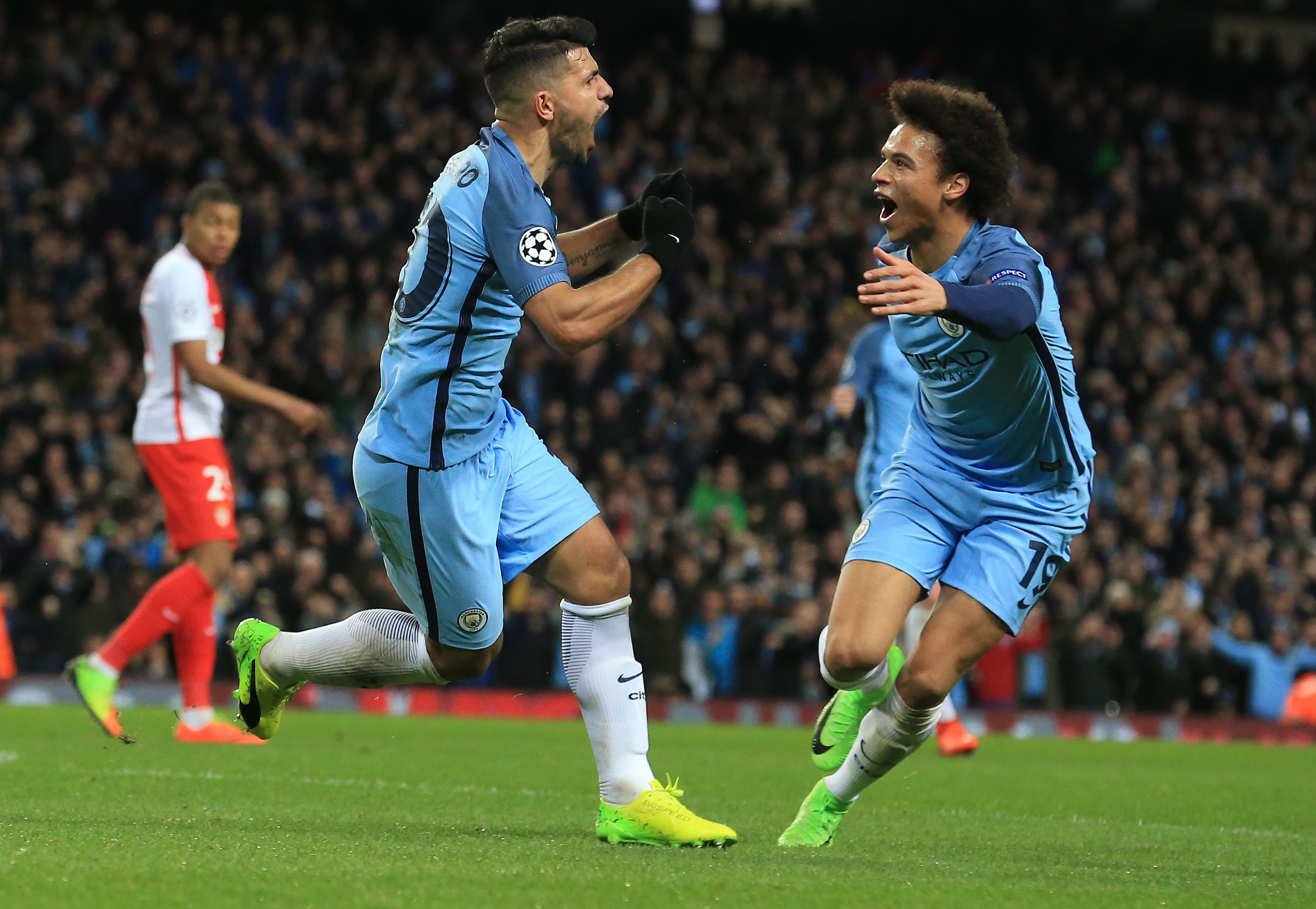 Image result for Monaco v Manchester City
