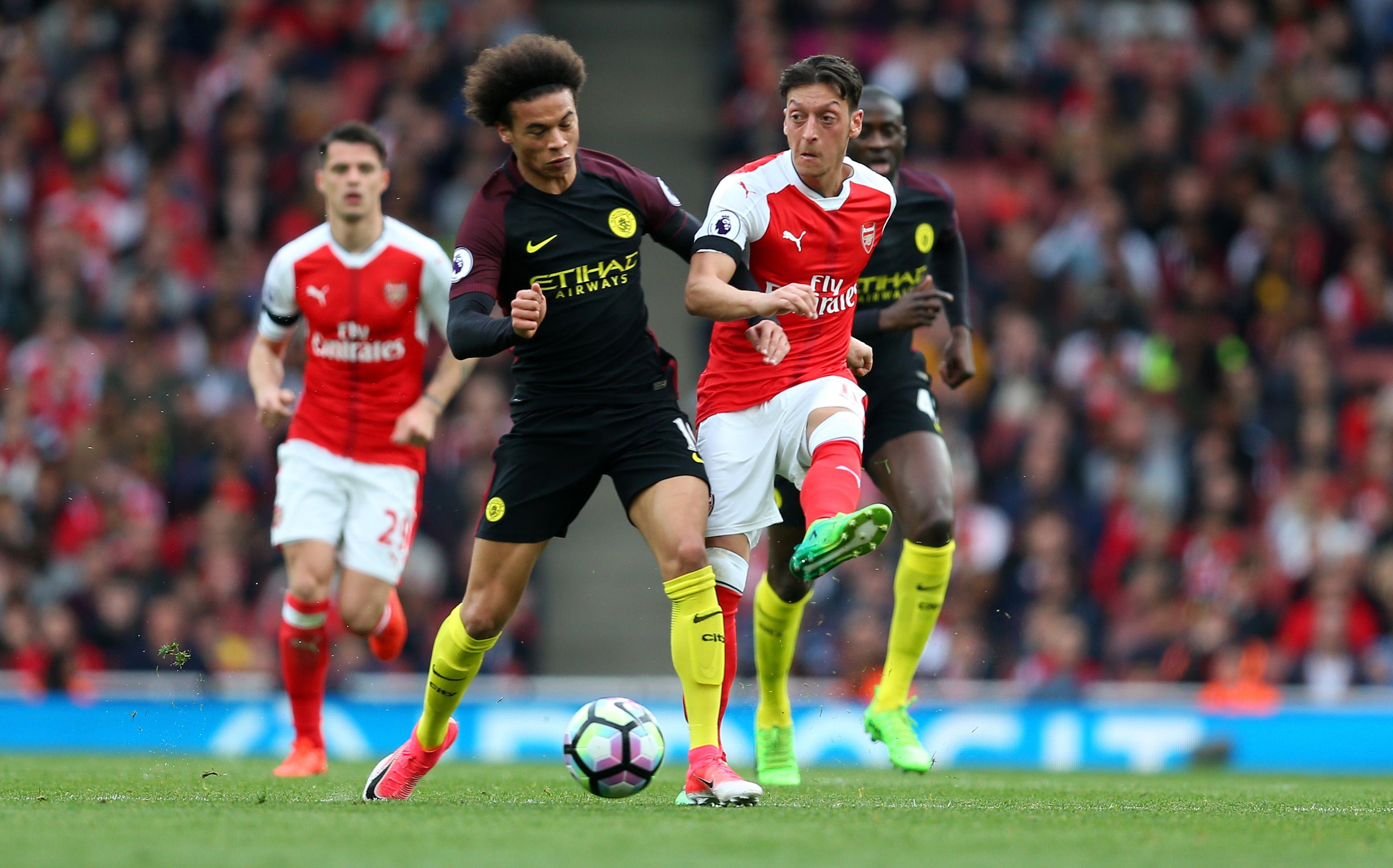 Arsenal Gegen Manchester City