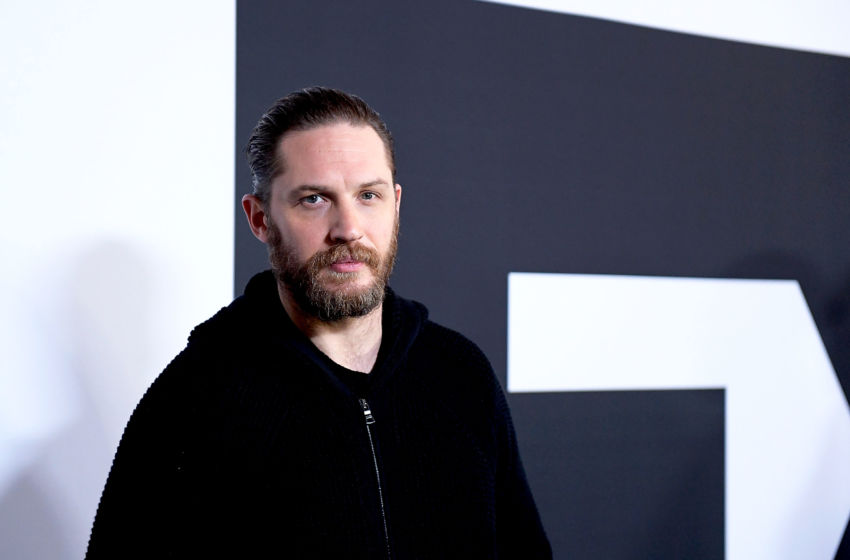 PASADENA, CA - JANUARY 12: 2017 Actor Tom Hardy arrives at the Winter TCA Tour FX Starwalk at Langham Hotel on January 12, 2017 in Pasadena, California. (Photo by Matt Winkelmeyer/Getty Images)