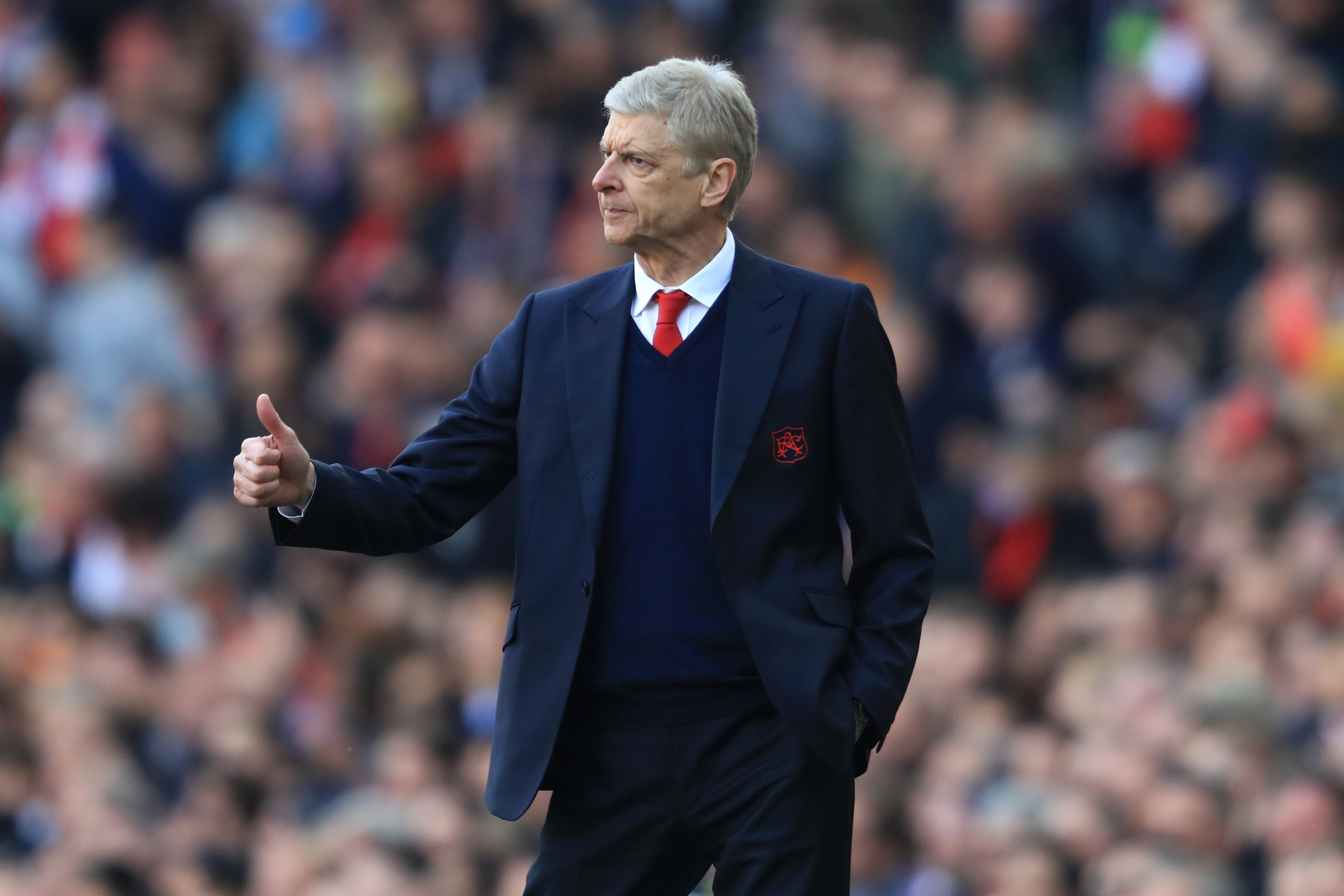 Wenger - Arsenal couldn't afford to lose today