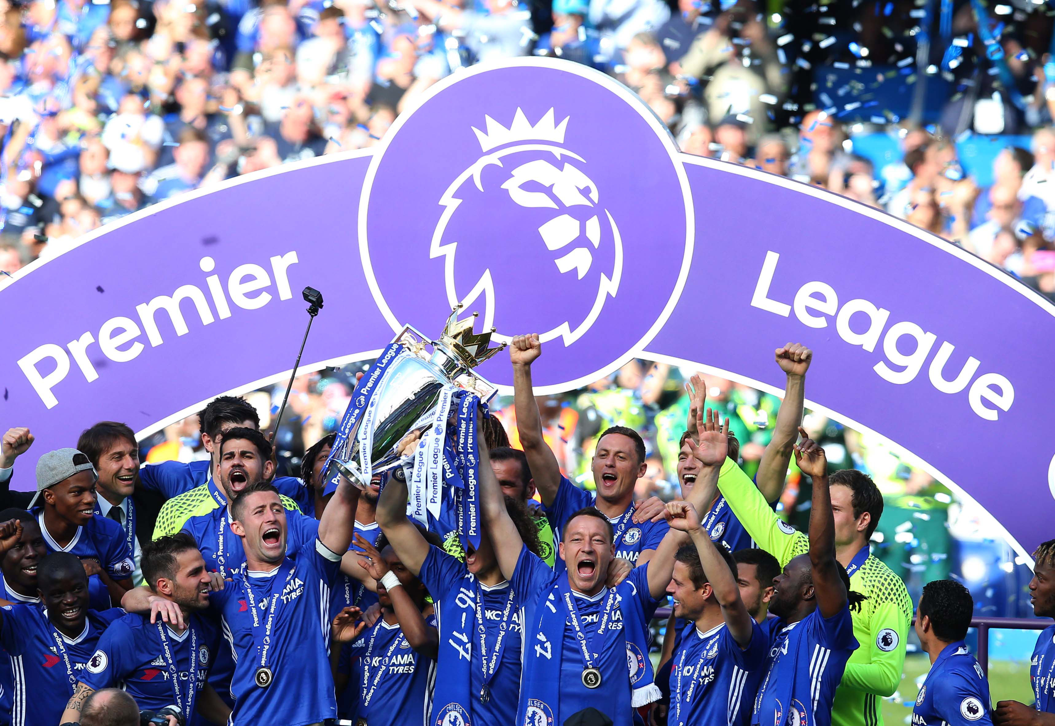 Chelsea win Premier League, Tottenham nab useless ...