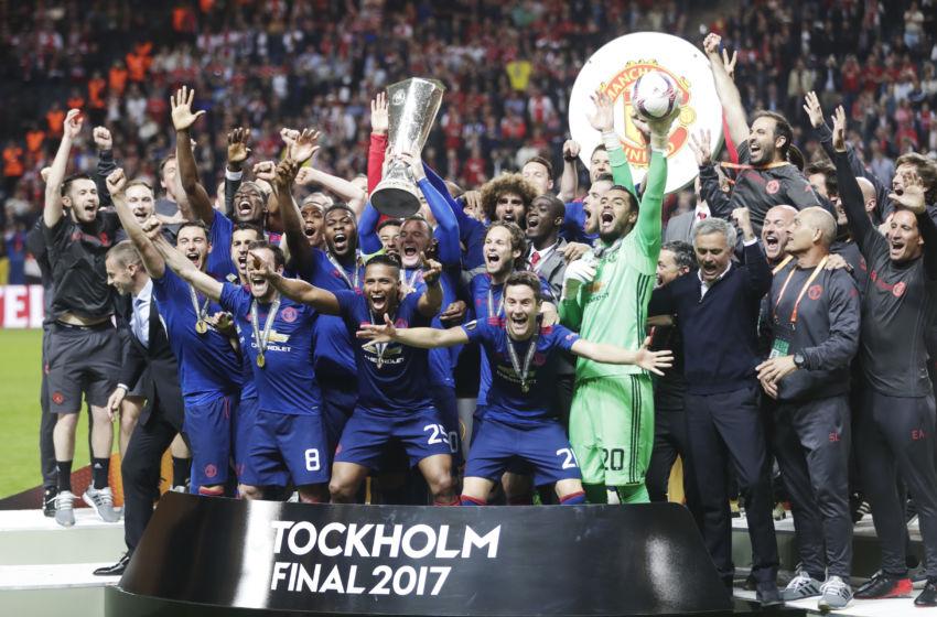 Ajax Manchester United Uefa Europa League Final Squad Season