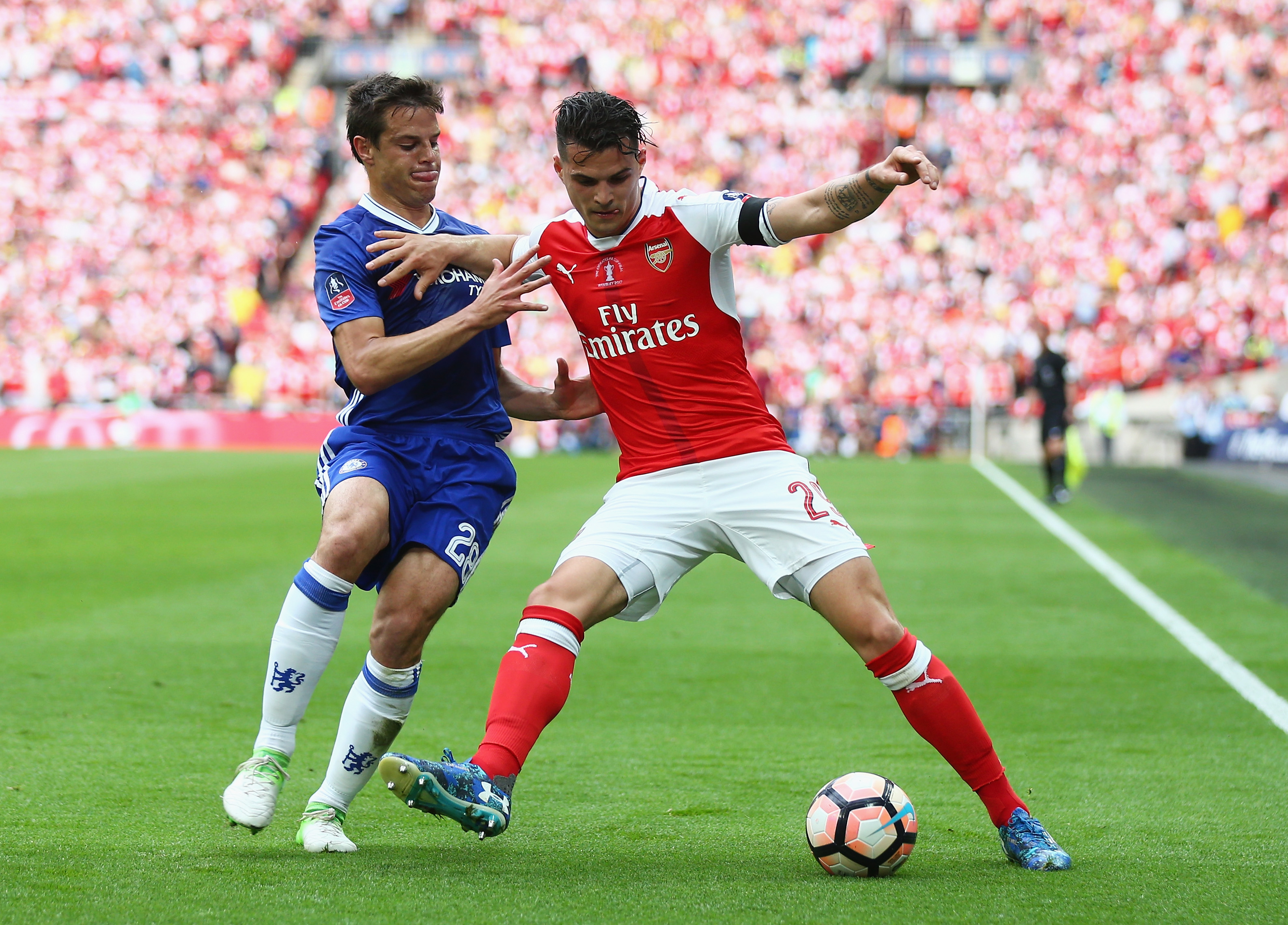 Arsenal Gallery: Arsenal: Granit Xhaka Shows Glimpse Of His Greatness