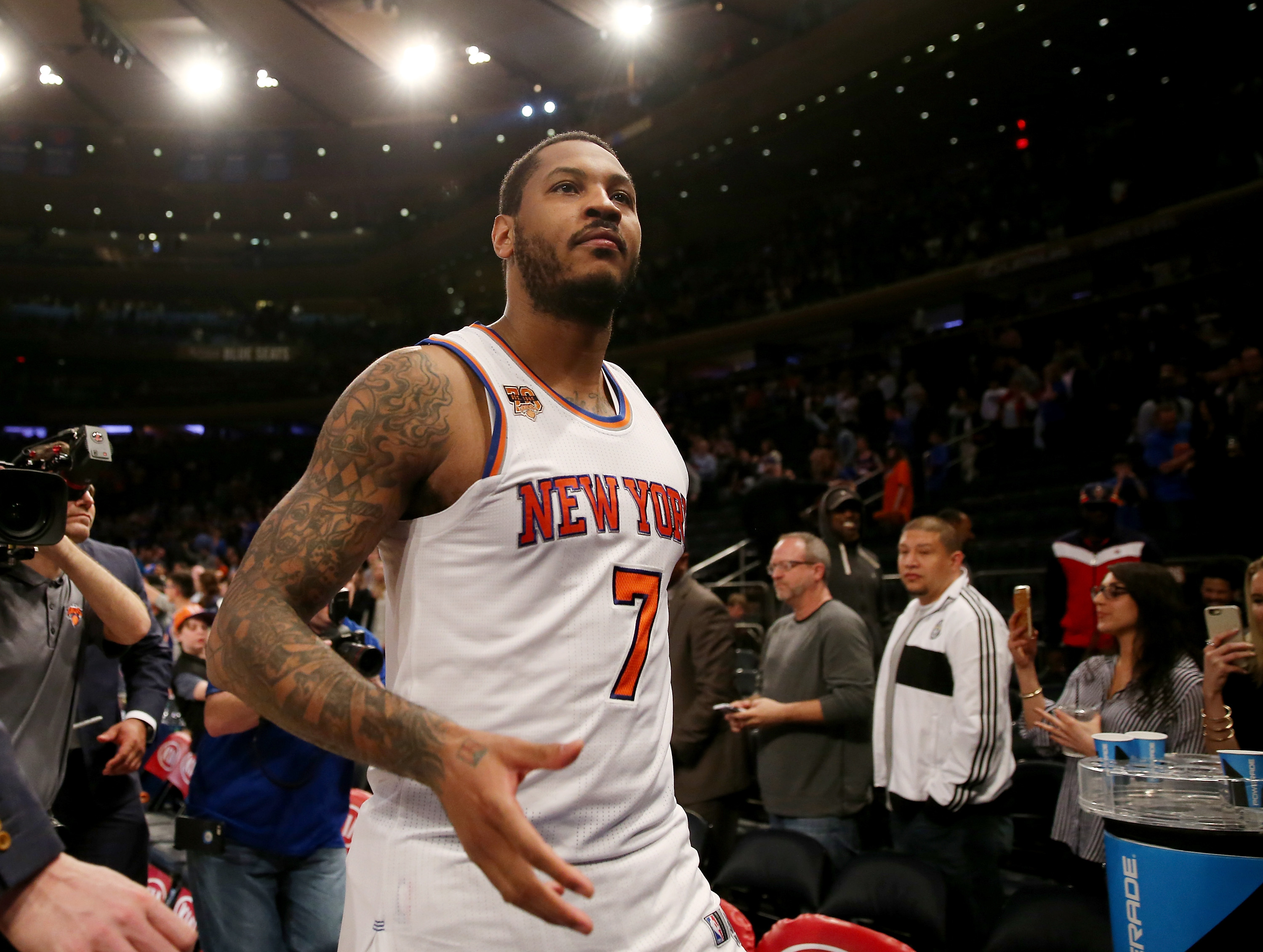 Houston Rockets: Carmelo Anthony has to be comfortable as ...